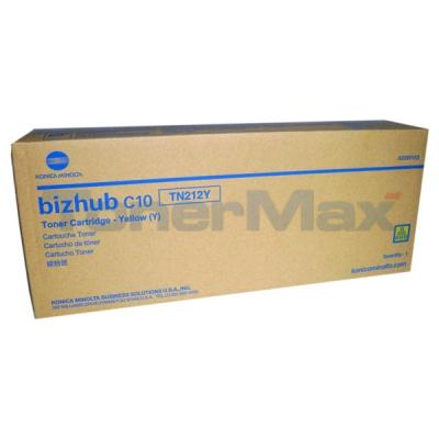 KONICA BIZHUB C10 TONER CARTRIDGE YELLOW